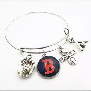 Boston Red Sox Charm Bracelet